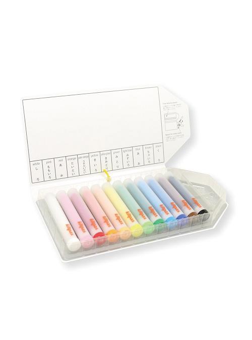 Kitpas Holder Marker, 12 colors Refillable 1