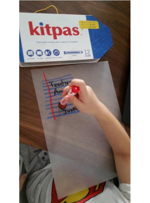 Kitpas Holder Marker, 12 colors Refillable 4