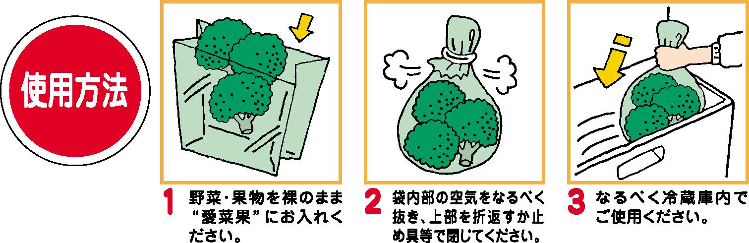 Keep Fresh! Reusable Fruit & Veg Bag (L) (made from Japan Oya stone) 5