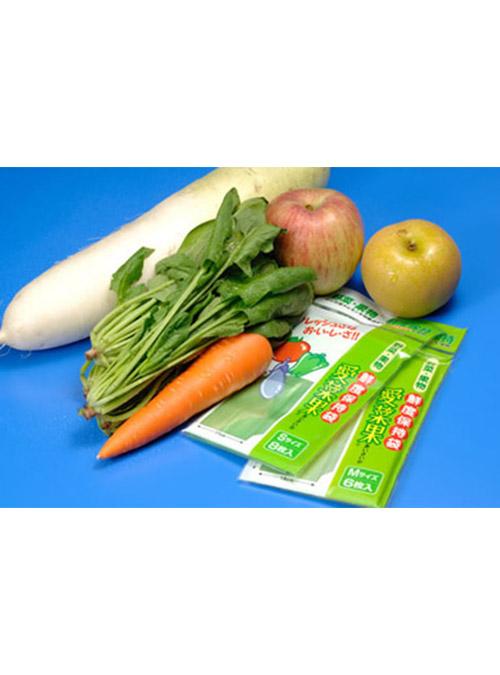 Keep Fresh! Reusable Fruit & Veg Bag (L) (made from Japan Oya stone) 4